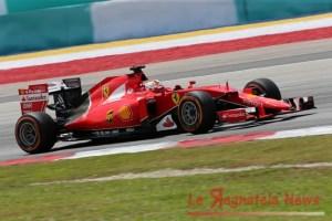 28.03.2015 - Free Practice 3, Sebastian Vettel (GER) Scuderia Ferrari SF15-T