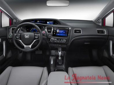 The 2014 Honda Civic.