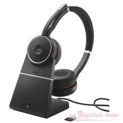 Jabra evolve 75 con base