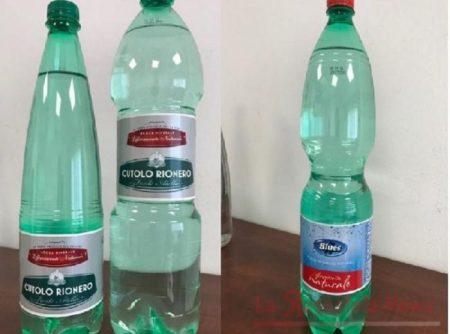 Acqua minerale contaminata. Ecco i lotti ritirati dal Ministero della Salute