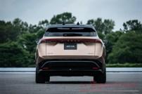 Nissan Ariya exterior rear_1_tail light on
