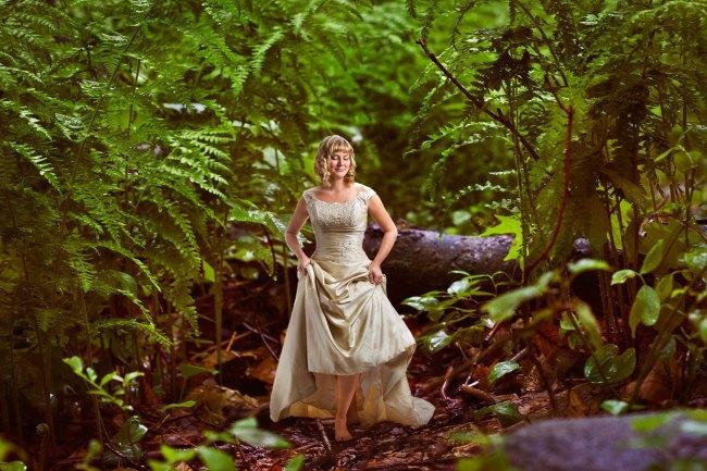 fantasy bridal portrait