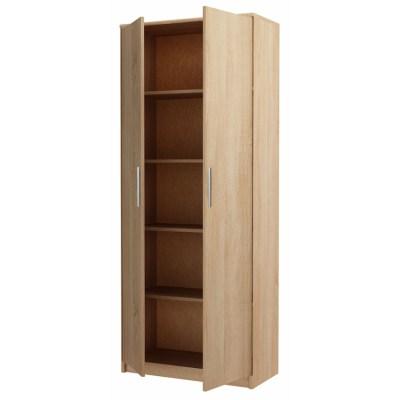 Dulap E4 Bardolino, cu 4 etajere, 90x200x50 cm