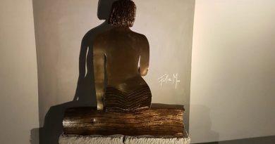 Le opere 'eco' di Felice Meo in mostra all'Hotel Marina 10 di Casamicciola
