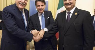 Conte riunisce Sarraj e Haftar