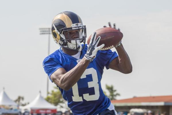 WR #13 Mike Thomas (Image credit: Jeff Lewis / www.therams.com)