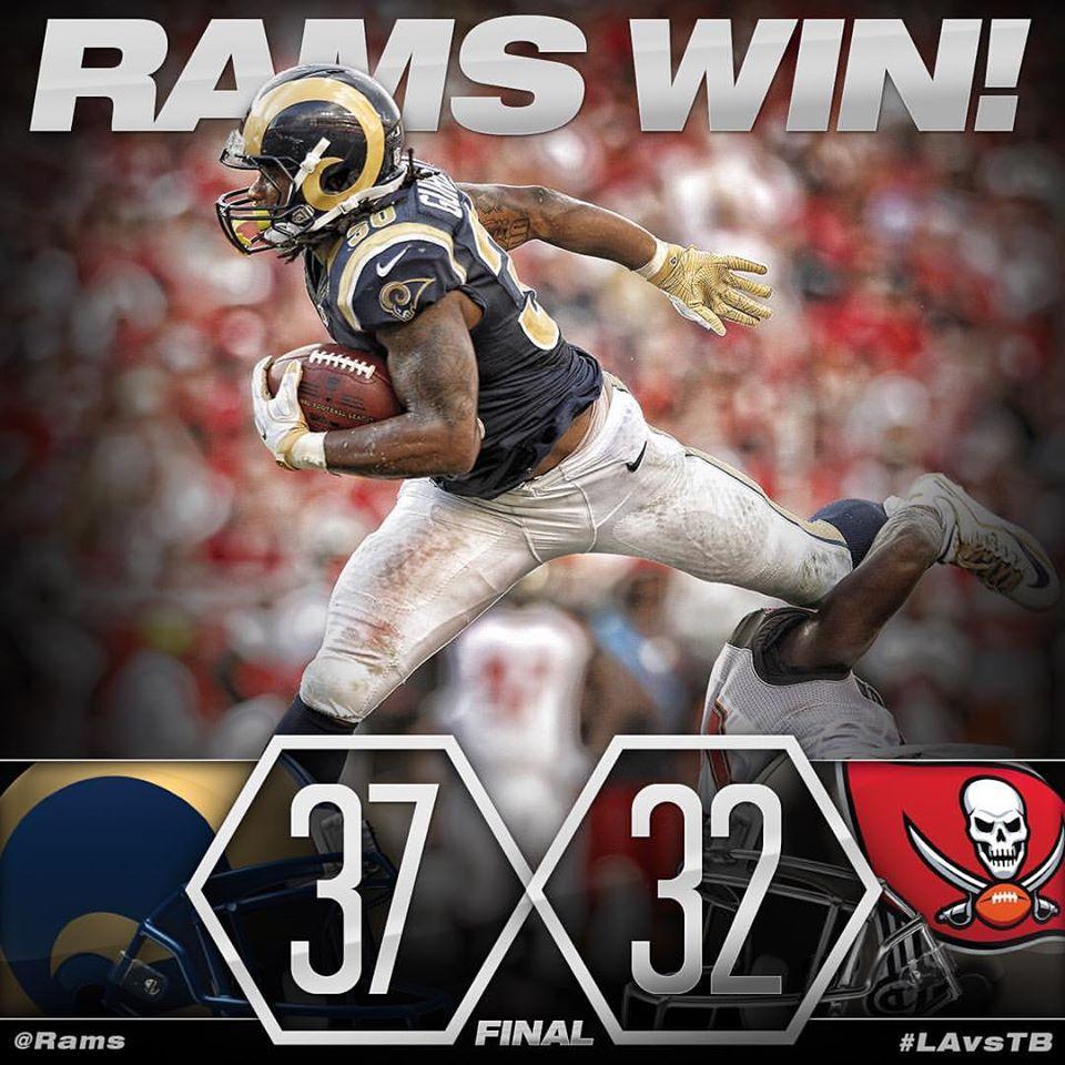 L.A. Rams er 2-1!
