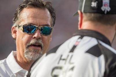 Rams' HC Jeff Fisher (photo credit: Jeff Lewis / www.therams.com)