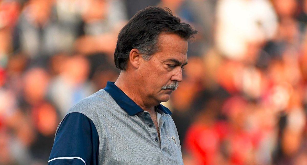 Jeff Fisher fyret!