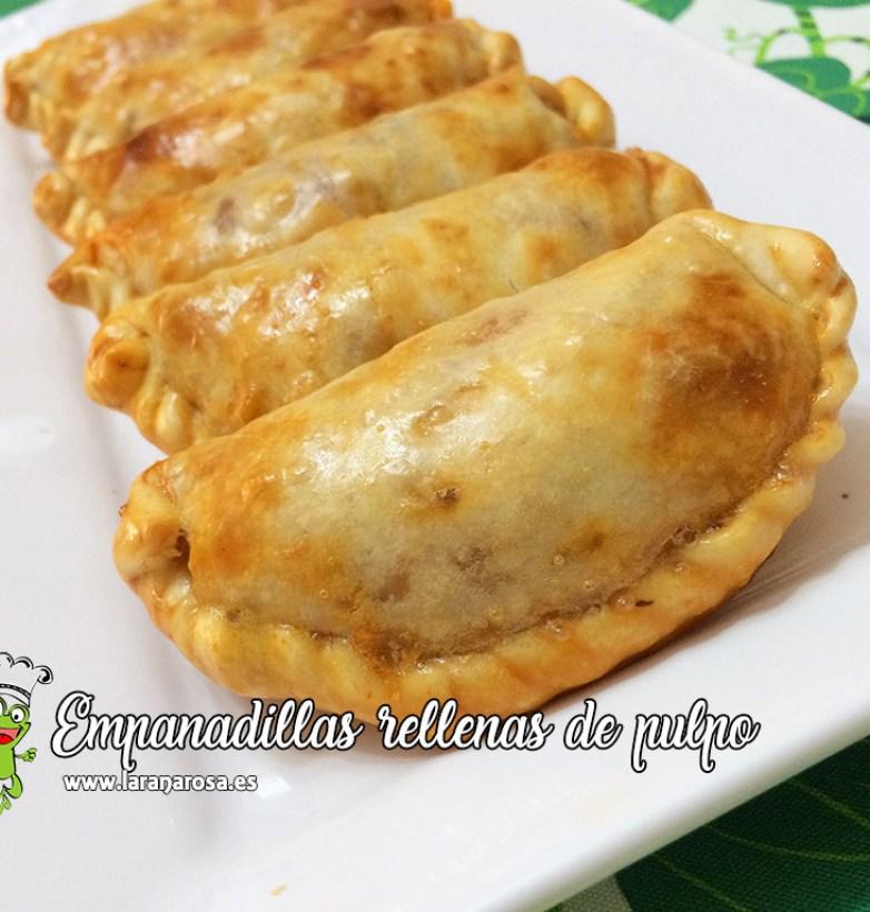 Empanadillas rellenas de pulpo