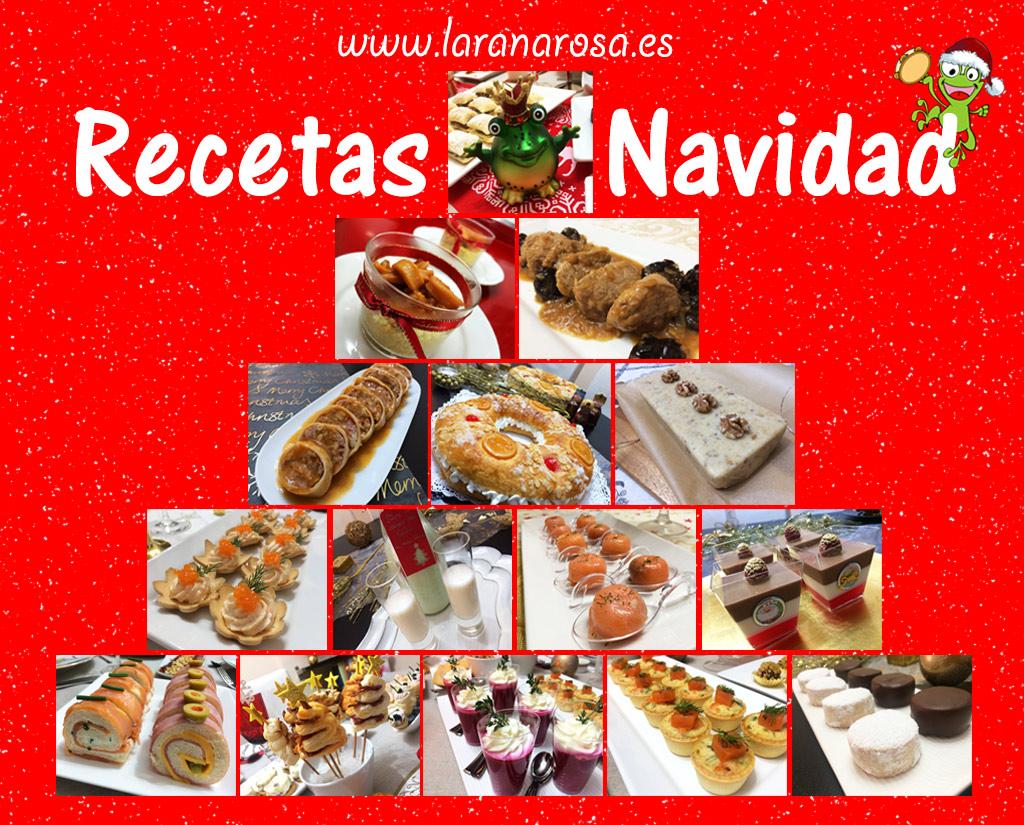 Pincha en la imagen para ver las recetas de navidad de la rana rosa