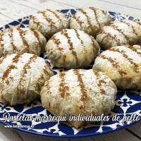 Pastelas marroquí individuales de pollo