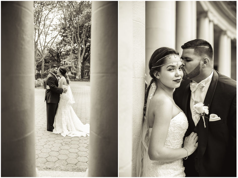 Wedding Photography in McGolrick Park by Lara Photography Studio