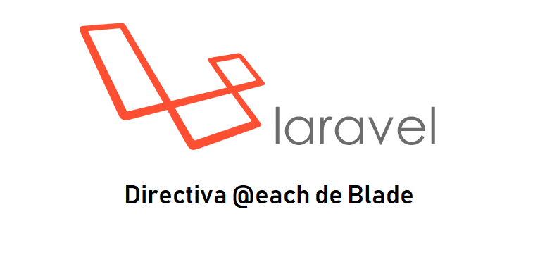 Directiva each() de Blade