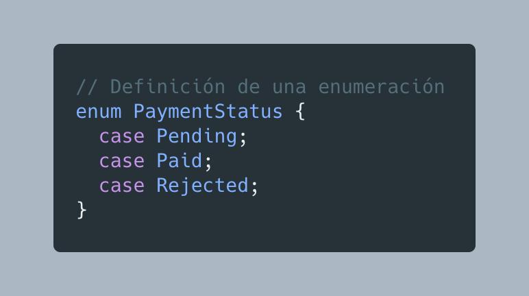 Definiendo Enum PHP 8.1