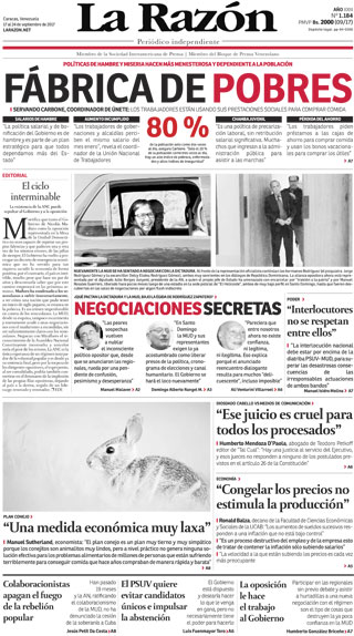 La Razón | Edición 1177
