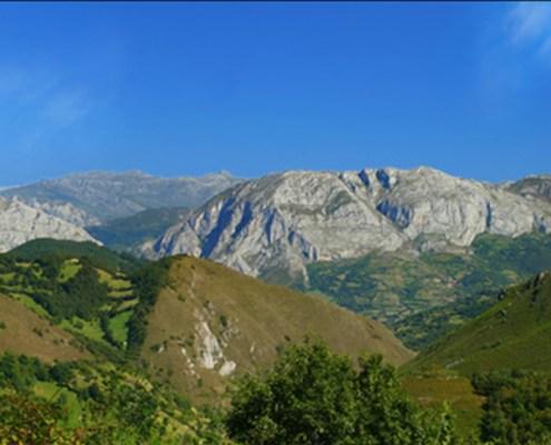 Parque Ubiñas cerca casa rural L'Arboleu Asturias Teverga