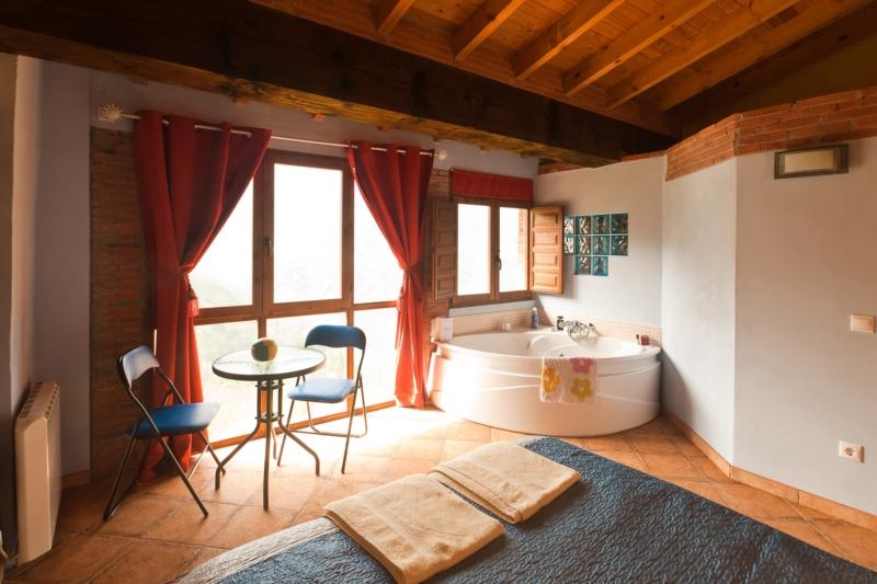Habitación privada con jacuzzi