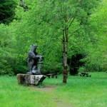Áreas recreativas cerca de Proaza, Asturias
