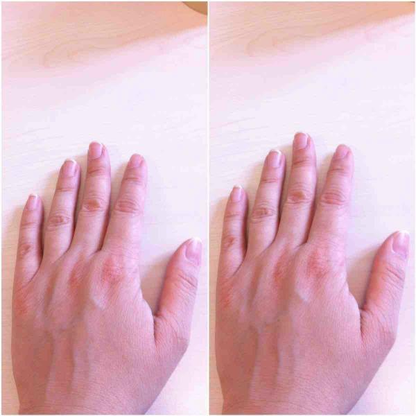 2 mains gauches