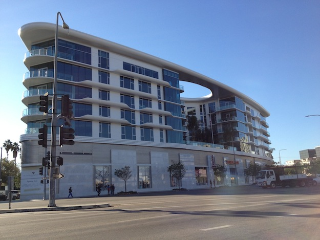 Luxury Apartment Building Opening Near Beverly Center