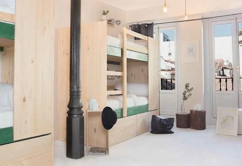 Habitación mixta de 6 camas