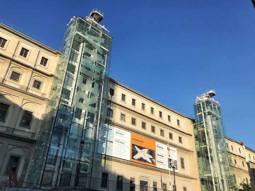 Museo Reina Sofía Edificio Sabatini Madrid 01