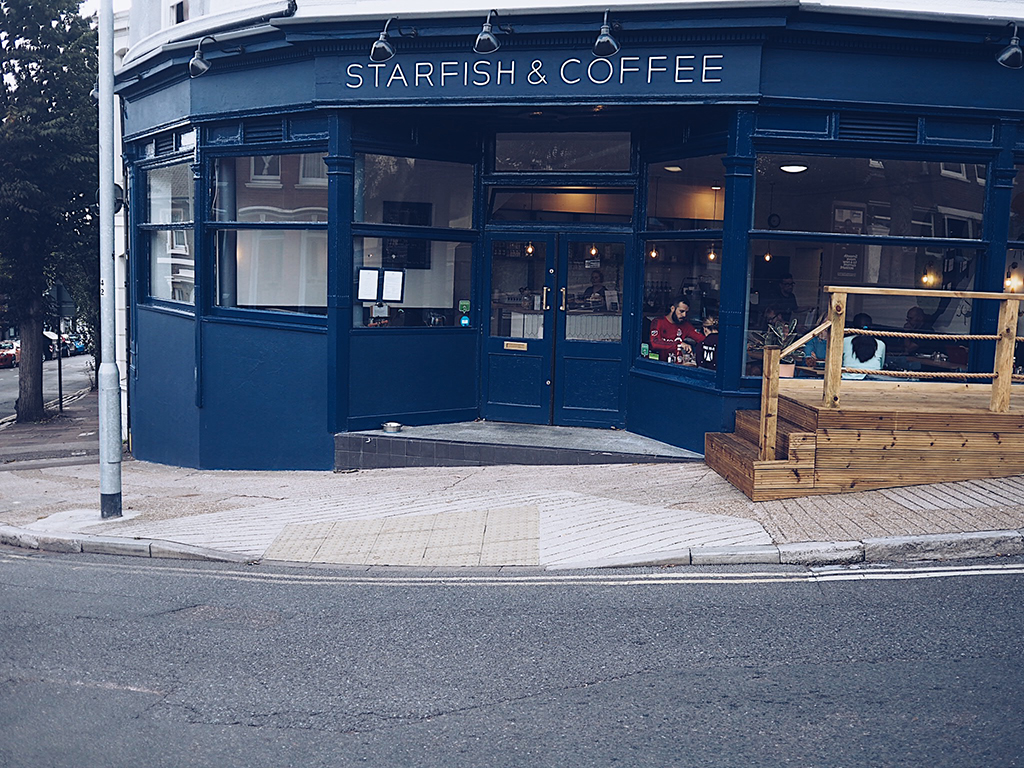 starfish and coffee cafe Brighton review