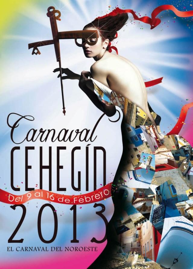 Cartel de Carnaval de Cehegín 2013