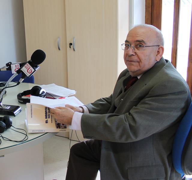 Don Jose Antonio Sánchez en la entrevista a Radio Bullas
