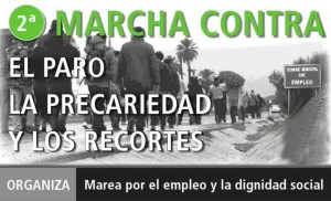 II Marcha contra el para, la precariedad y los recortes