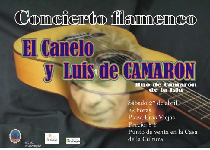 Carte Concierto Flamenco en Cehegín