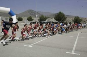 Duatlon escolar 2013 en Lorca