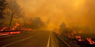 Incendio forestal en Yátova, en la provincia de Valencia, el pasado verano