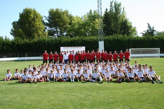 I Campus de Fútbol 'Javier Miñano' en Cehegín