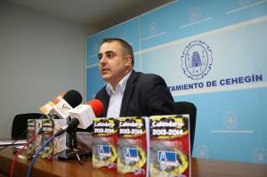 Francisco Abril, Concejal de Turismo del Ayuntamiento de Cehegín
