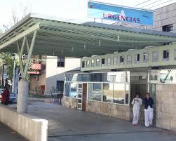Puerta de Urgencias Hospital Comarcal del Noroeste
