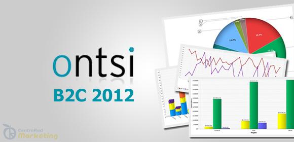Estudio anual sobre Comercio Electrónico B2C 2012 realizado por la ONTSI (Observatorio Nacional de las Telecomunicaciones y de la Sociedad de la Información).