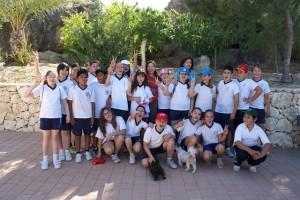 Foto de archivo ::Escolares de Calasparra en la I Jornada de Reforestación::