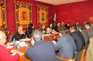Reunión de la Comisión de seguimiento y atención a personas en riesgo de desahucio