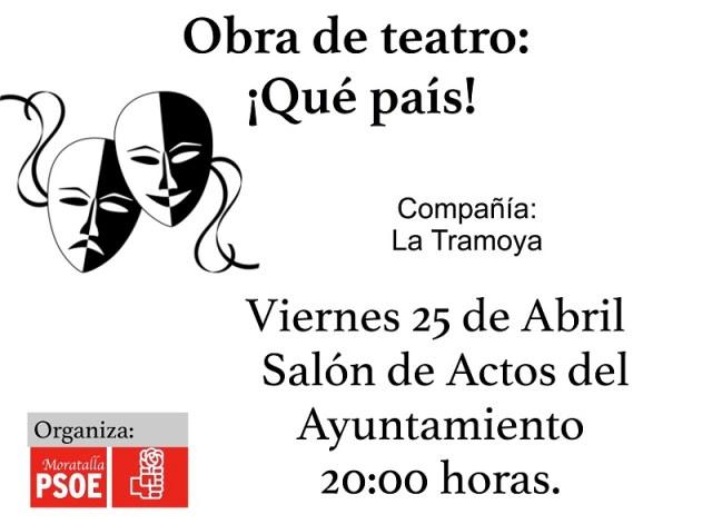 cartel obra teatro