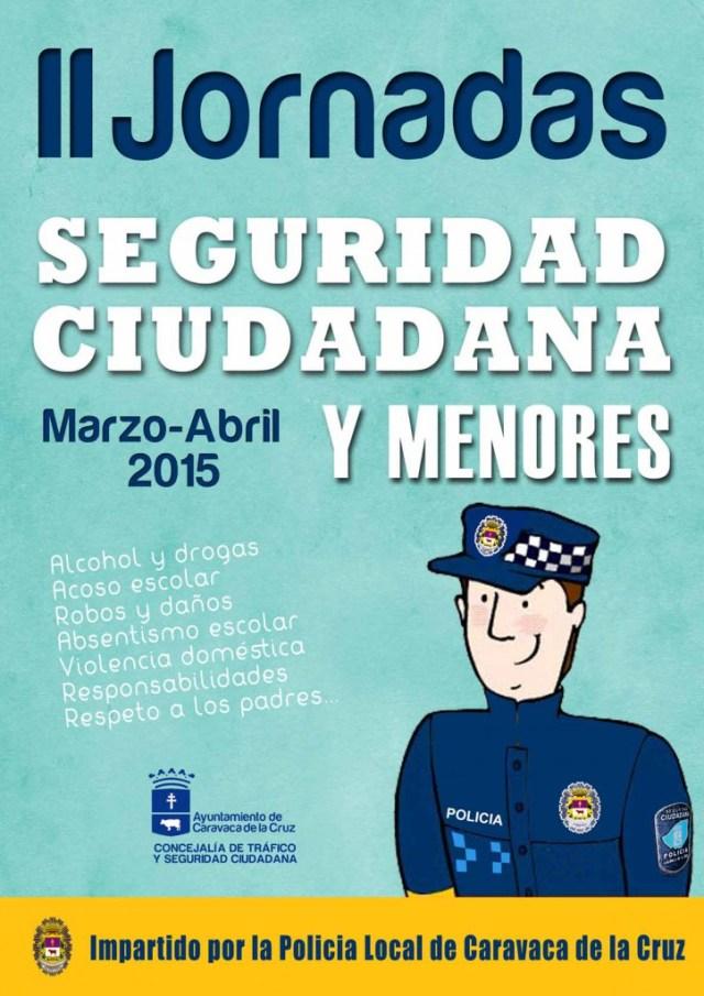 CATEL II JORNADAS DE SEGURIDAD CIUDADANA A MENORES 2015