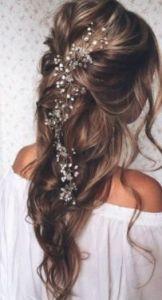 Novia, pelo, boda