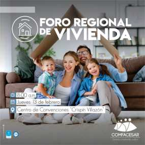 Hoy en Valledupar, foro regional de vivienda