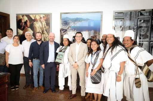 Gobernador y ONU adelantan alianza por la protección en la Sierra, líderes y víctimas