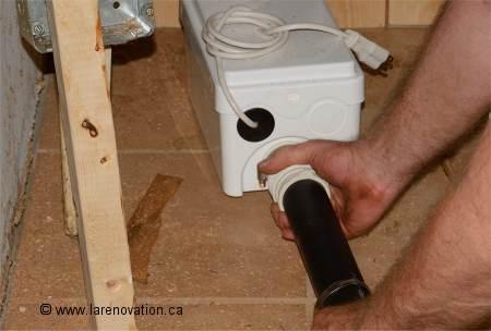 Installer Une Pompe De Relevage Pour Douche