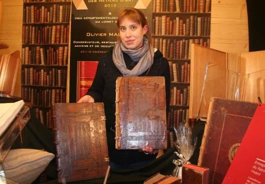 restaurateurs de livres anciens