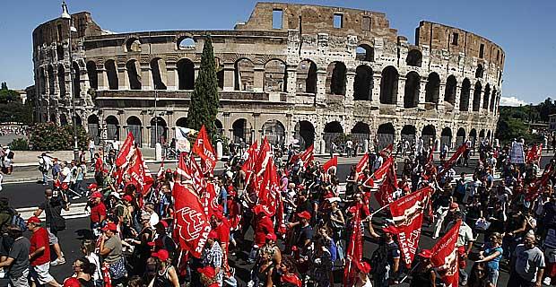 Resultado de imagen para Huelga en italia