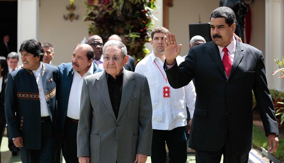 Resultado de imagen de Nicaragua, Cuba y Bolivia, solidaridad militante con Venezuela