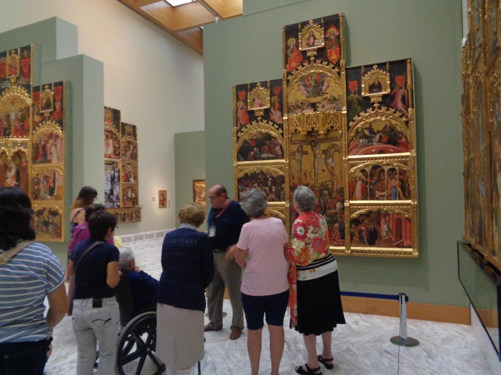 actividad cultural de centros de día para personas mayores